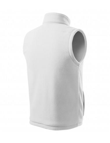 2Adler RIMECK Kamizelka polarowa unisex Next 518 biały