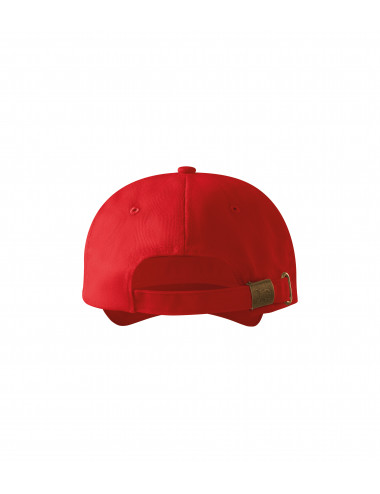 2Adler MALFINI Czapka unisex 6P 305 czerwony