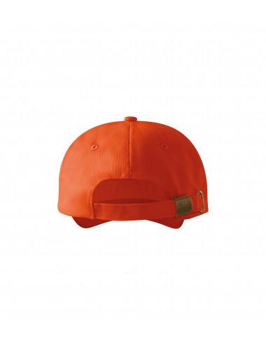 2Adler MALFINI Czapka unisex 6P 305 pomarańczowy