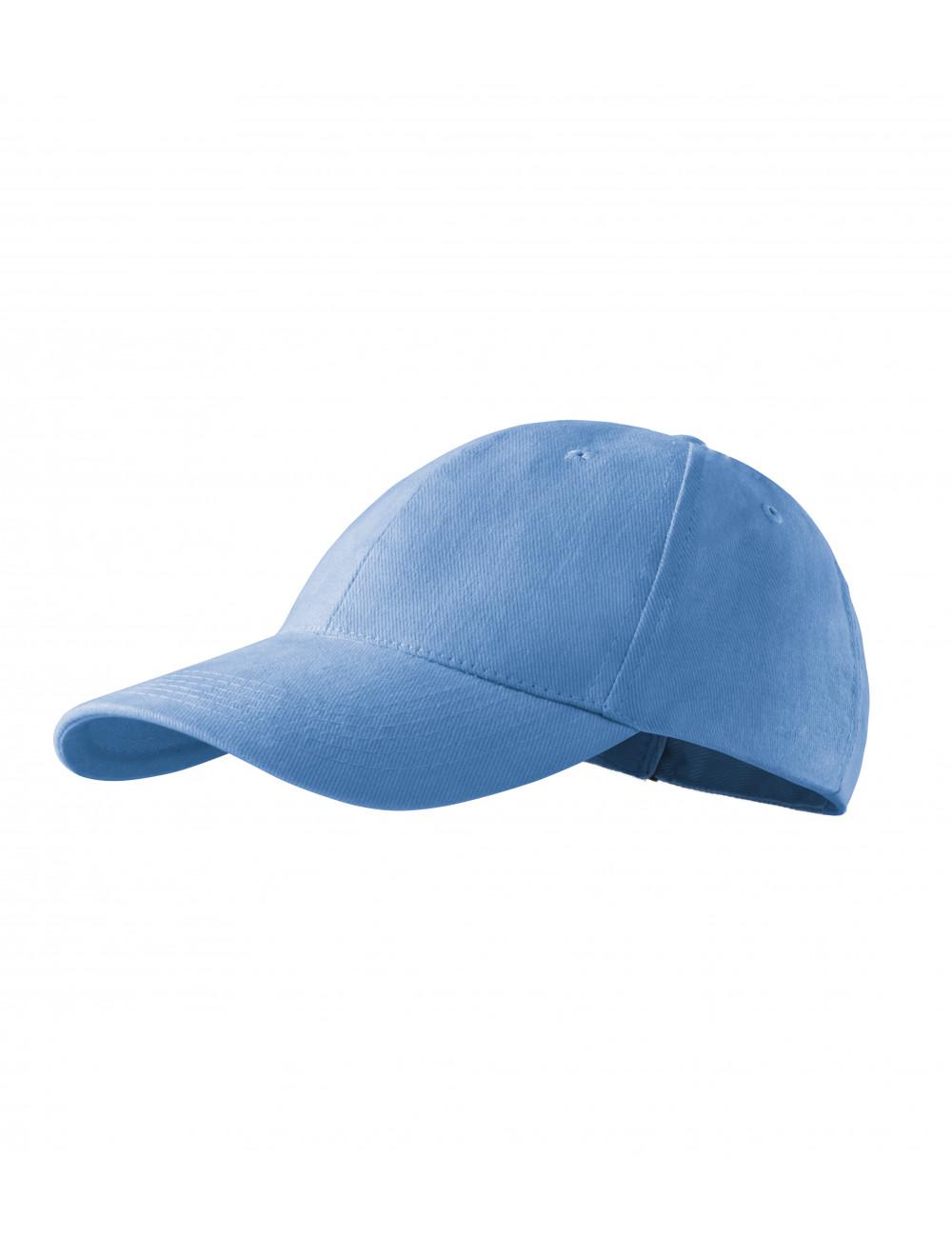 Adler MALFINI Czapka unisex 6P 305 błękitny