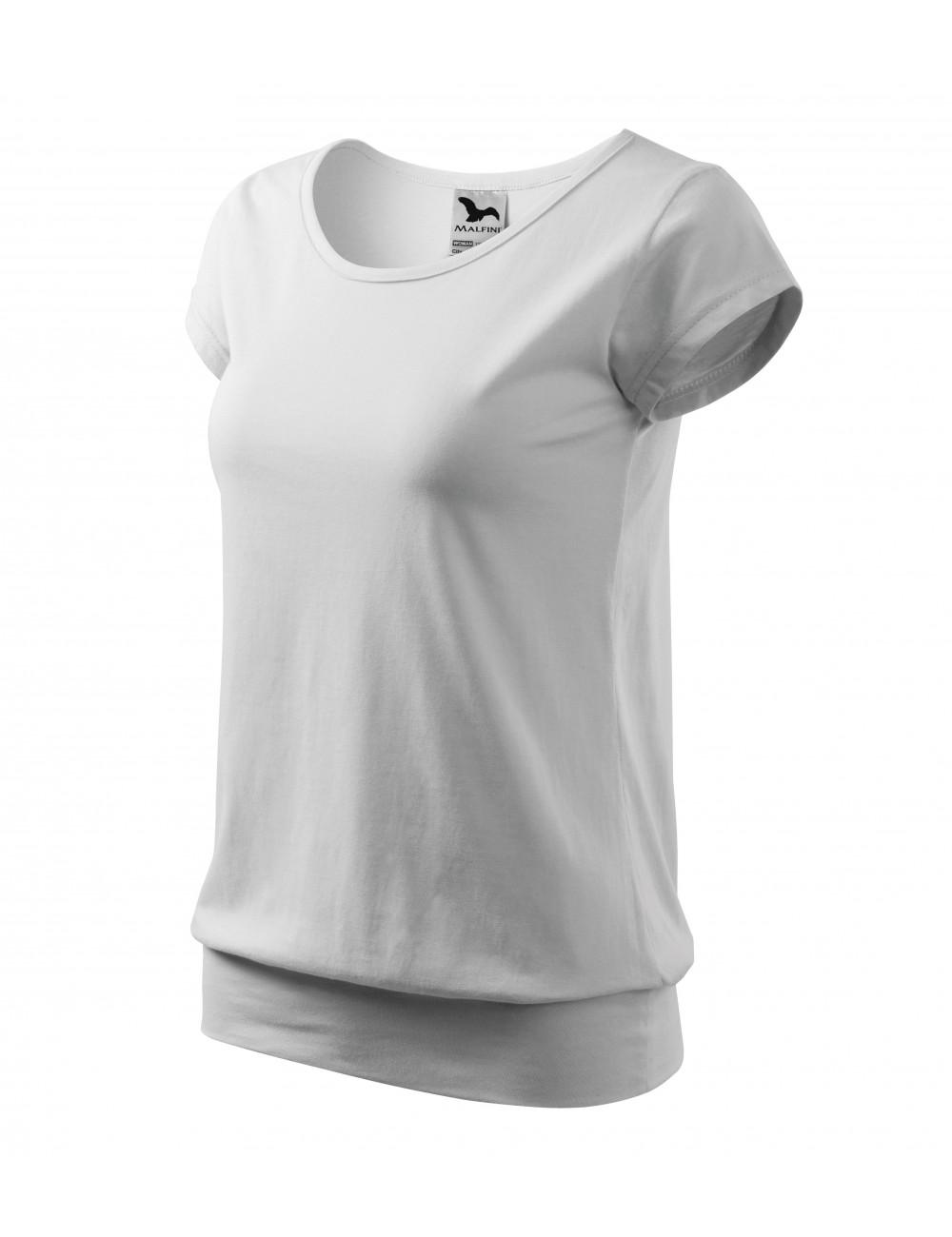 Adler MALFINI Koszulka damska City 120 biały