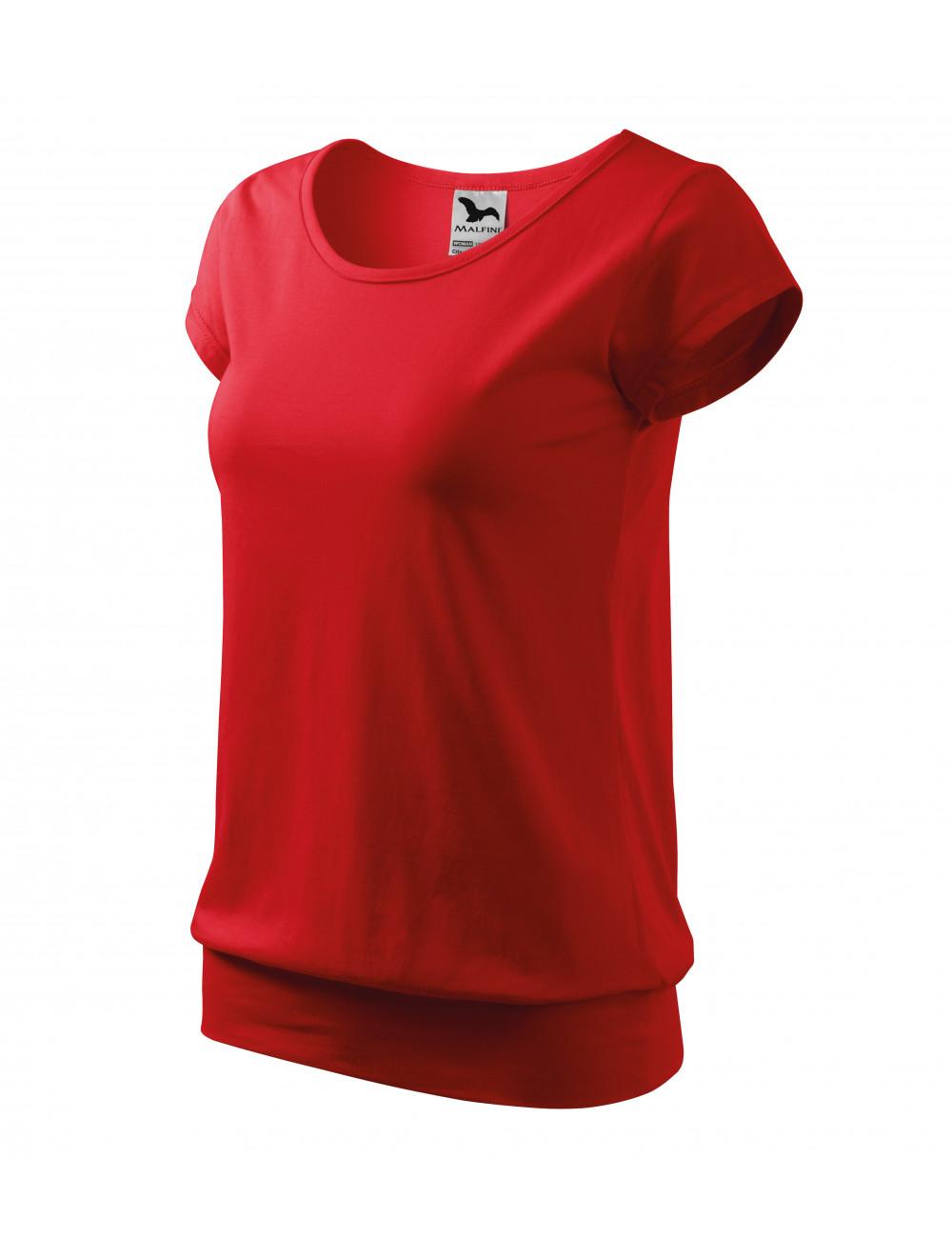Adler MALFINI Koszulka damska City 120 czerwony