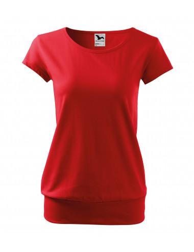 2Adler MALFINI Koszulka damska City 120 czerwony