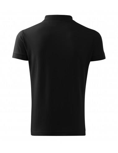 2Adler MALFINI Koszulka polo męska Cotton Heavy 215 czarny