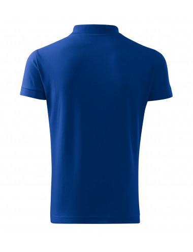 2Adler MALFINI Koszulka polo męska Cotton Heavy 215 chabrowy