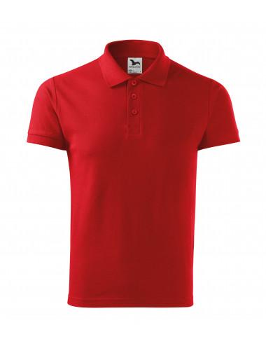 2Adler MALFINI Koszulka polo męska Cotton Heavy 215 czerwony