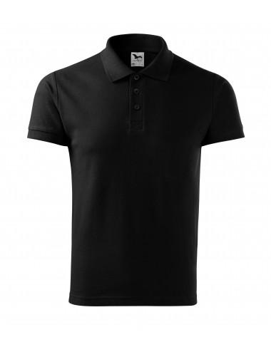 2Adler MALFINI Koszulka polo męska Cotton 212 czarny