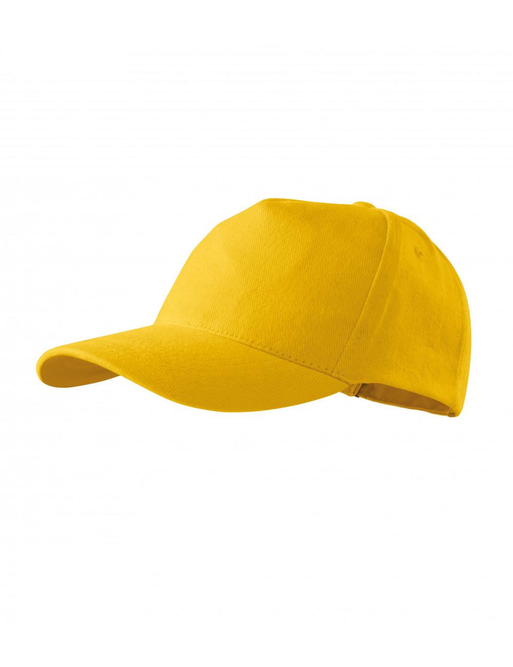 Adler MALFINI Czapka unisex 5P 307 żółty