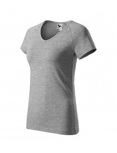 2Adler MALFINI Koszulka damska Dream 128 ciemnoszary melanż