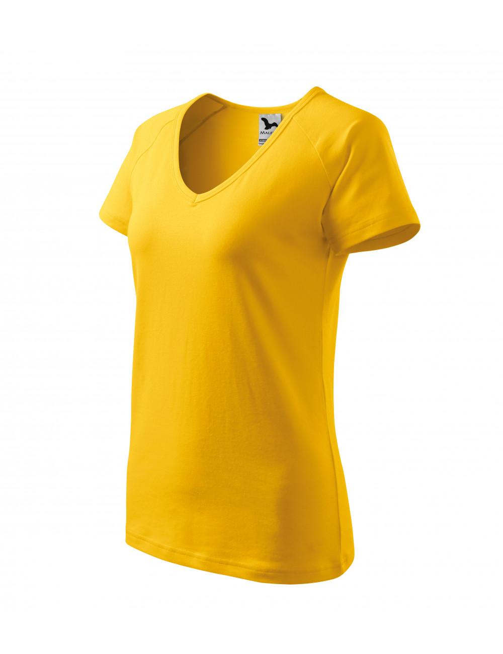 Adler MALFINI Koszulka damska Dream 128 żółty