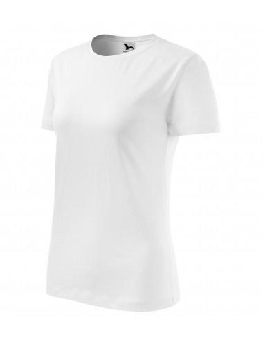 Adler MALFINI Koszulka damska Classic New 133 biały