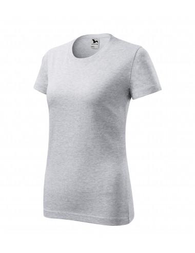 2Adler MALFINI Koszulka damska Classic New 133 jasnoszary melanż
