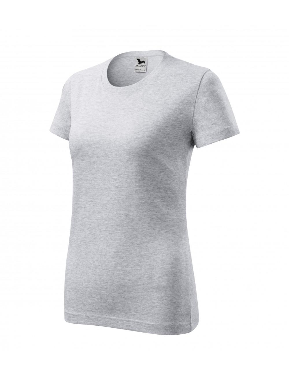 Adler MALFINI Koszulka damska Classic New 133 jasnoszary melanż