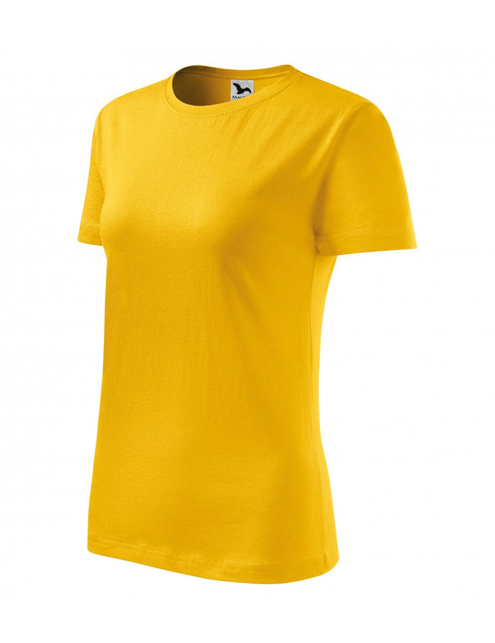 Adler MALFINI Koszulka damska Classic New 133 żółty