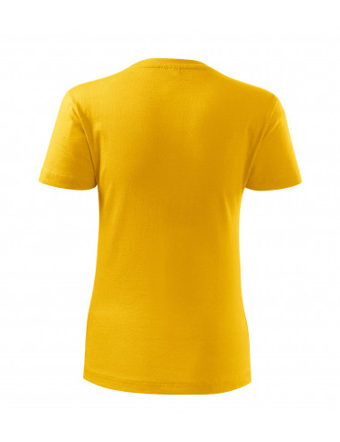2Adler MALFINI Koszulka damska Classic New 133 żółty