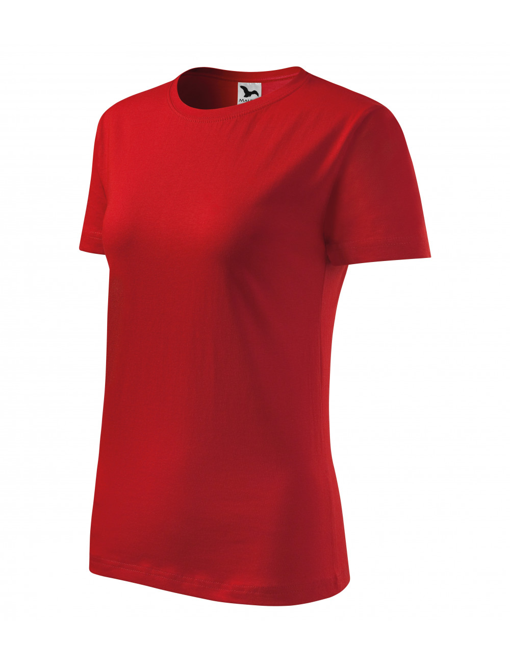 Adler MALFINI Koszulka damska Classic New 133 czerwony