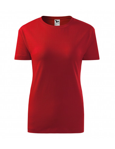 2Adler MALFINI Koszulka damska Classic New 133 czerwony