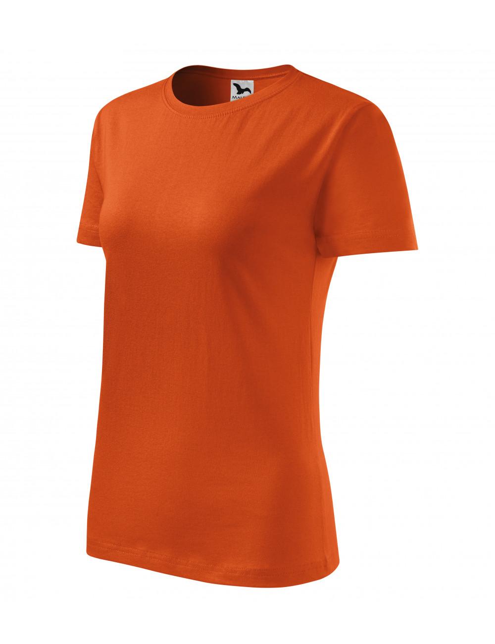 Adler MALFINI Koszulka damska Classic New 133 pomarańczowy