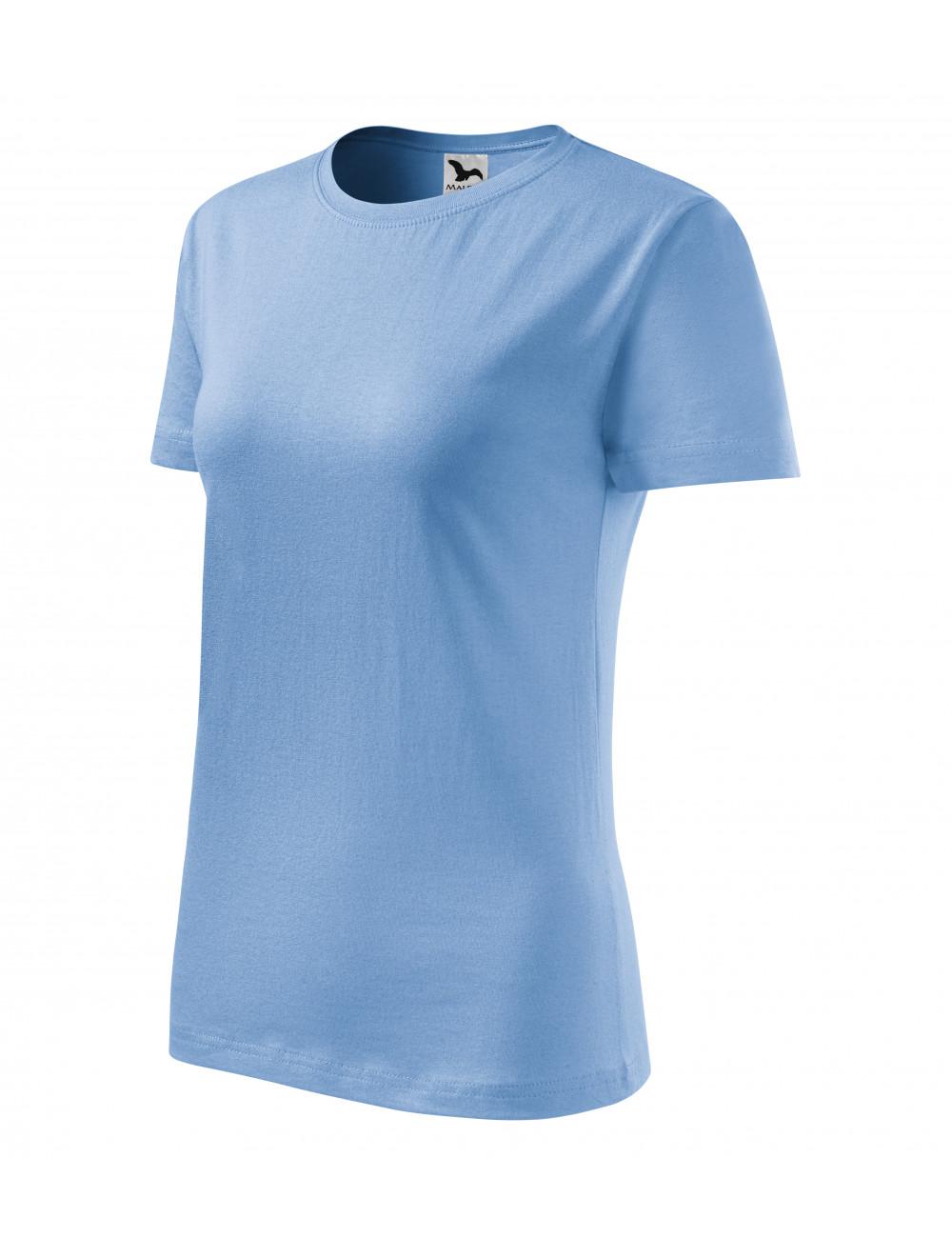 Adler MALFINI Koszulka damska Classic New 133 błękitny