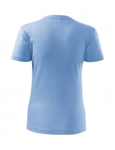2Adler MALFINI Koszulka damska Classic New 133 błękitny