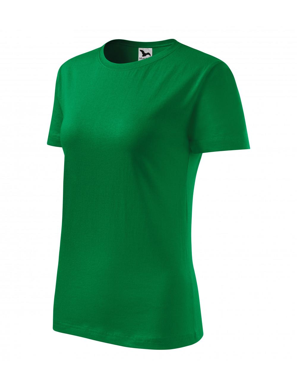 Adler MALFINI Koszulka damska Classic New 133 zieleń trawy