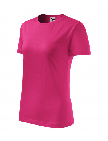 2Adler MALFINI Koszulka damska Classic New 133 czerwień purpurowa