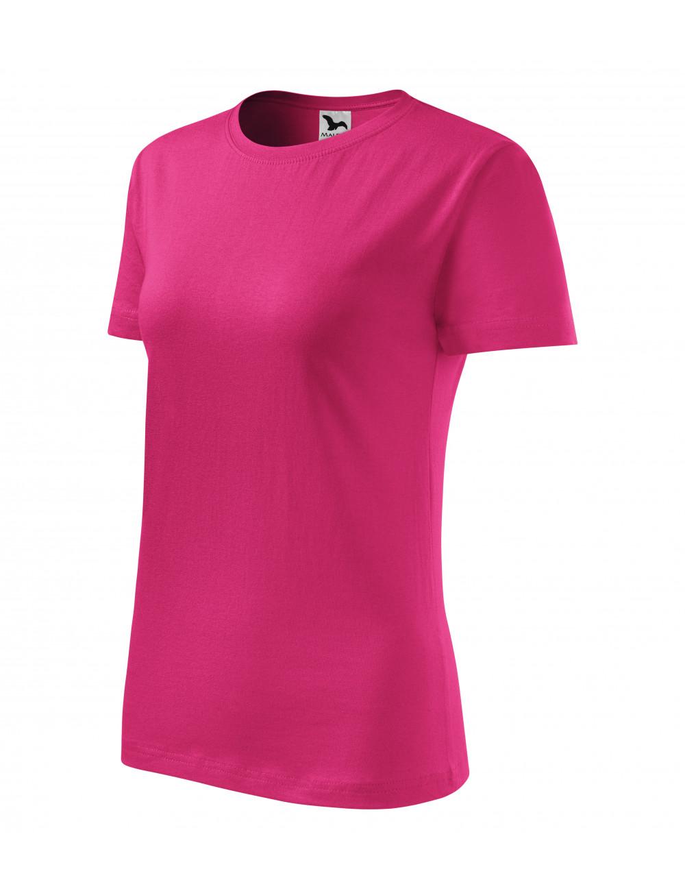 Adler MALFINI Koszulka damska Classic New 133 czerwień purpurowa