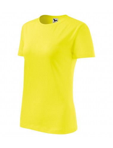 2Adler MALFINI Koszulka damska Classic New 133 cytrynowy