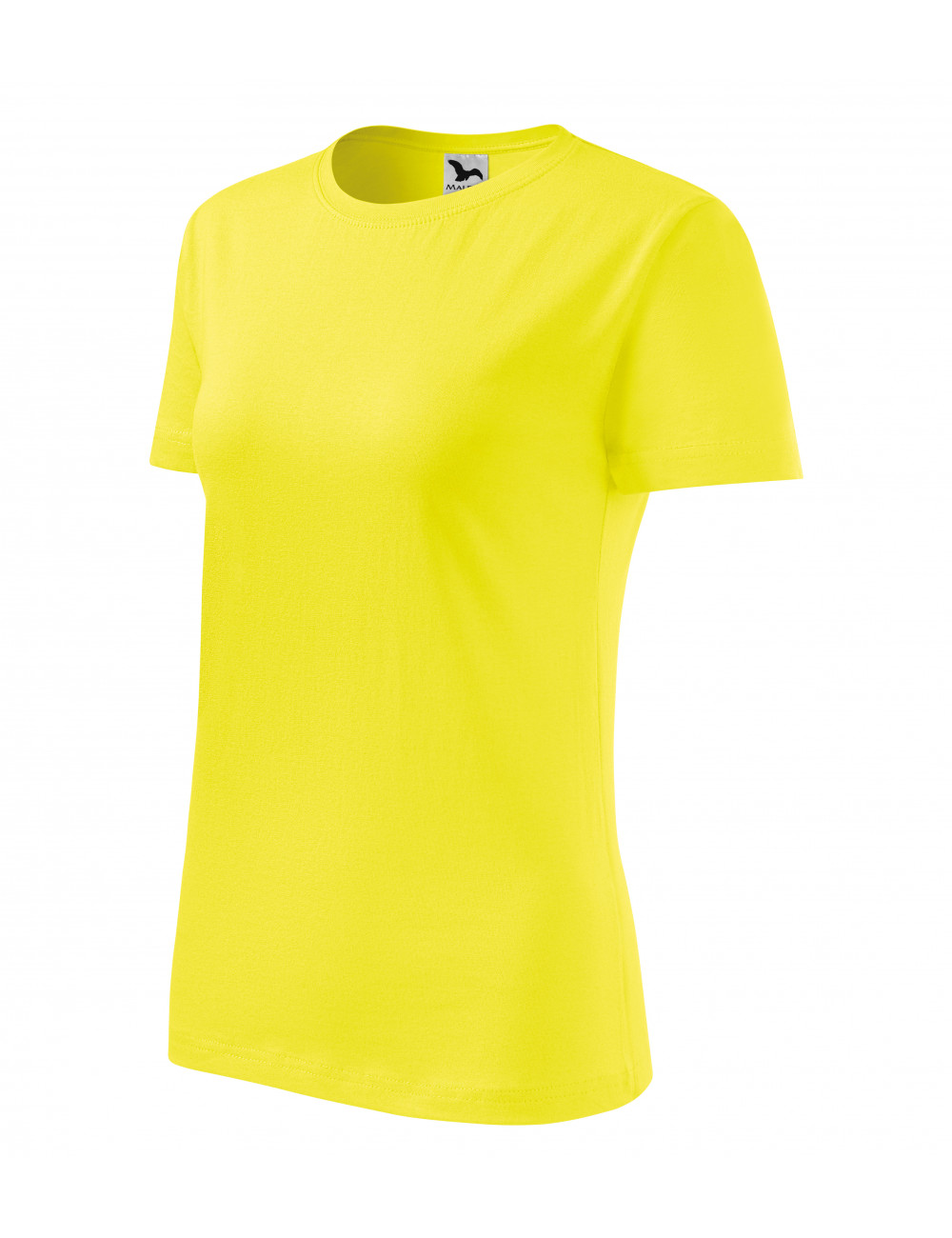 Adler MALFINI Koszulka damska Classic New 133 cytrynowy