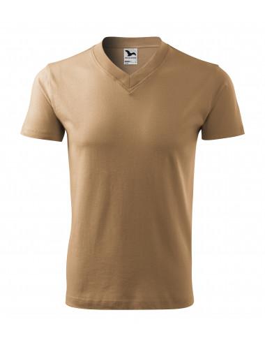2Adler MALFINI Koszulka unisex V-neck 102 piaskowy