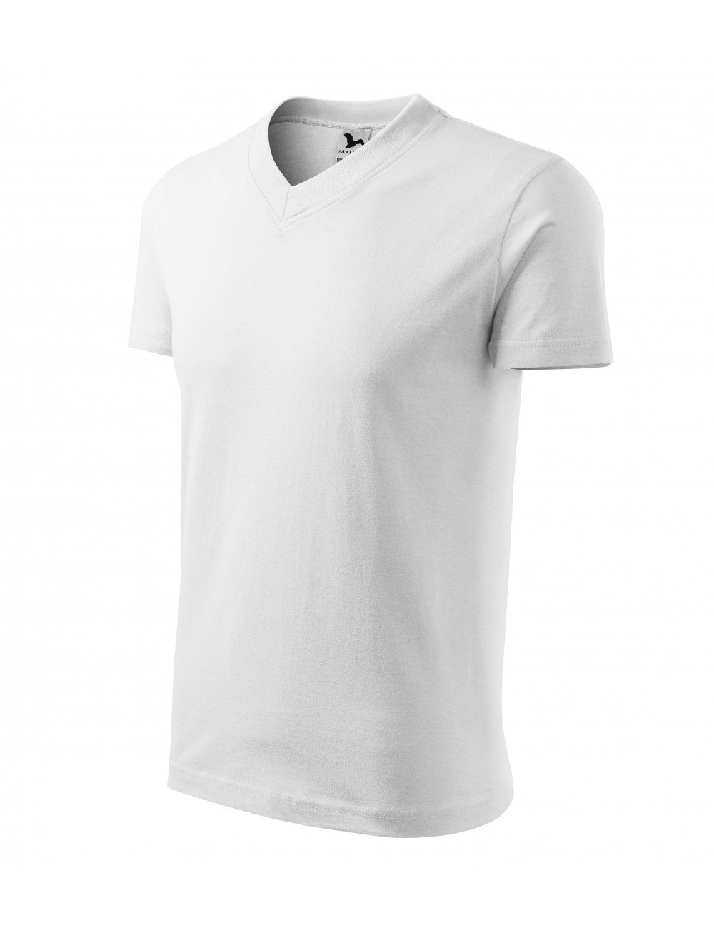 Adler MALFINI Koszulka unisex V-neck 102 biały
