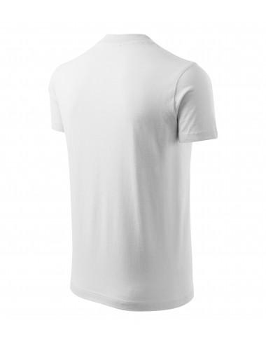 2Adler MALFINI Koszulka unisex V-neck 102 biały
