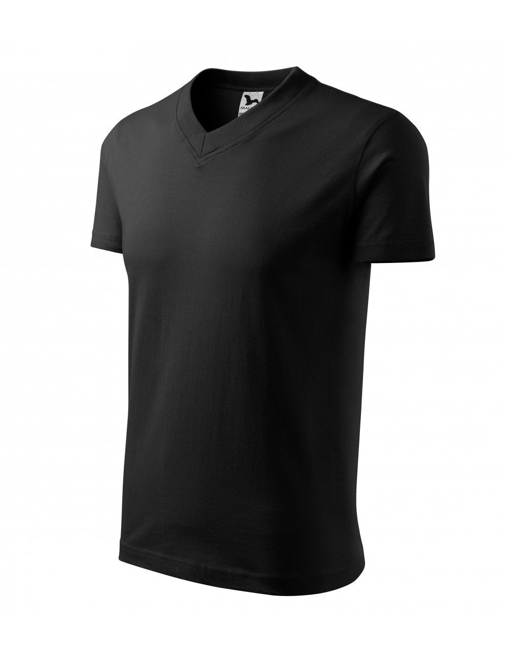 Adler MALFINI Koszulka unisex V-neck 102 czarny
