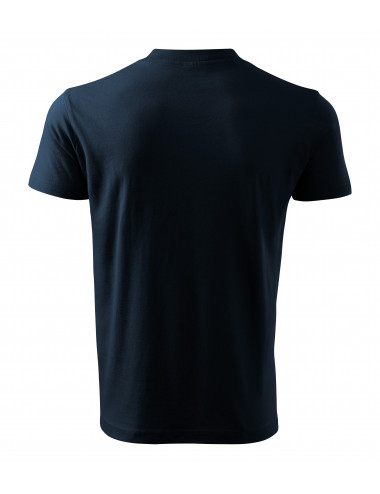 2Adler MALFINI Koszulka unisex V-neck 102 granatowy