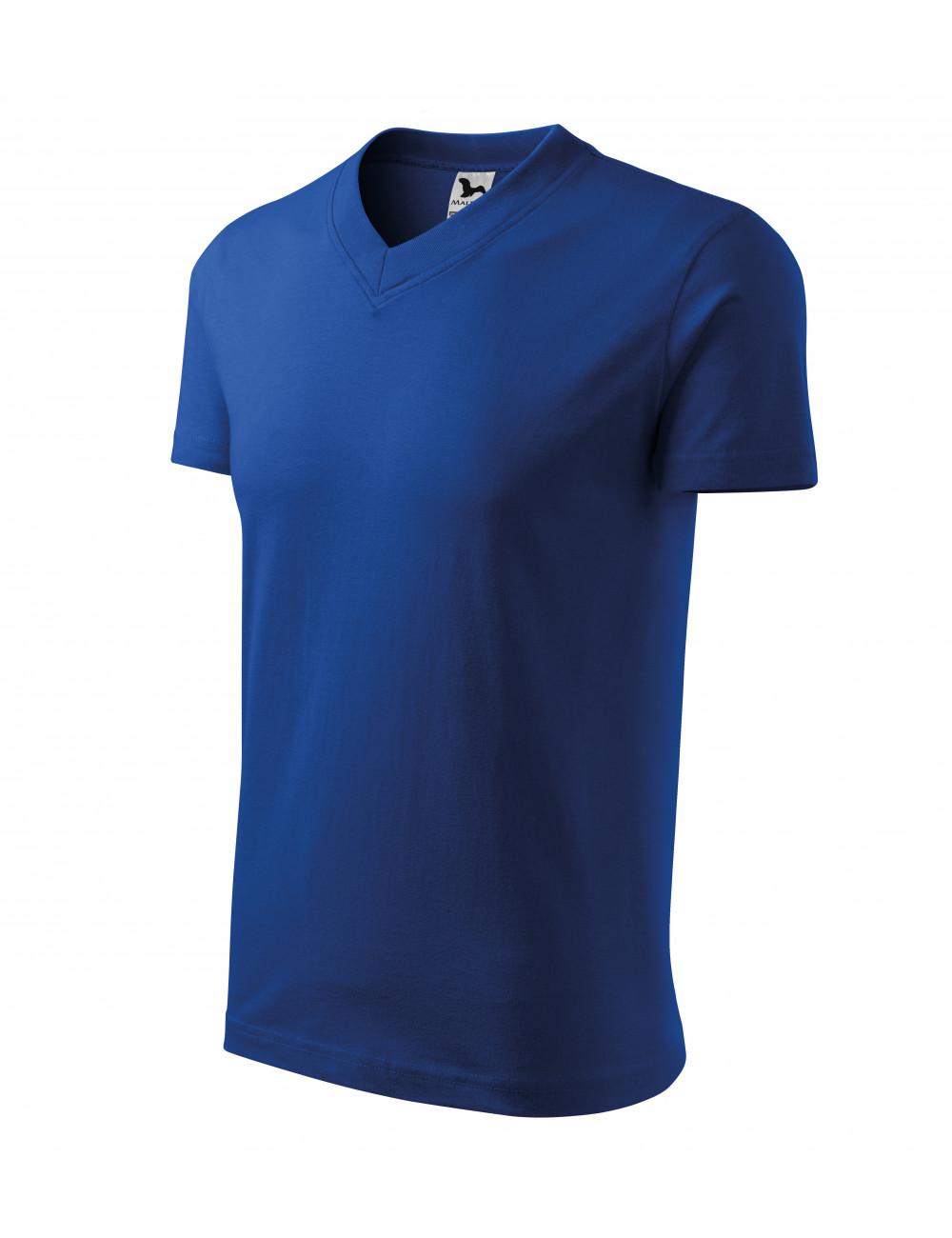 Adler MALFINI Koszulka unisex V-neck 102 chabrowy