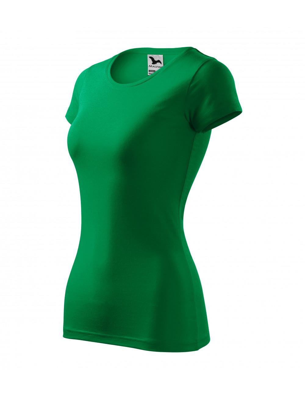 Adler MALFINI Koszulka damska Glance 141 zieleń trawy