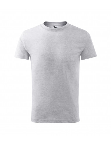 2Adler MALFINI Koszulka dziecięca Classic New 135 jasnoszary melanż