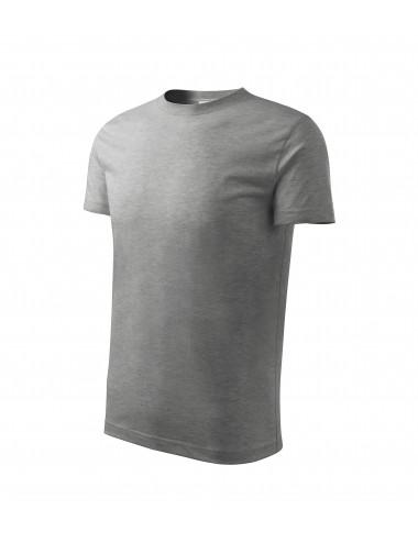 2Adler MALFINI Koszulka dziecięca Classic New 135 ciemnoszary melanż