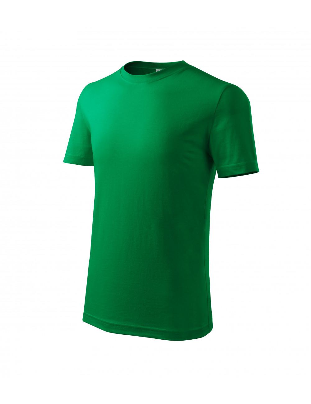 Adler MALFINI Koszulka dziecięca Classic New 135 zieleń trawy