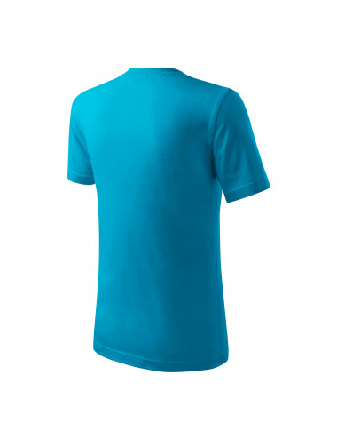 2Adler MALFINI Koszulka dziecięca Classic New 135 turkus