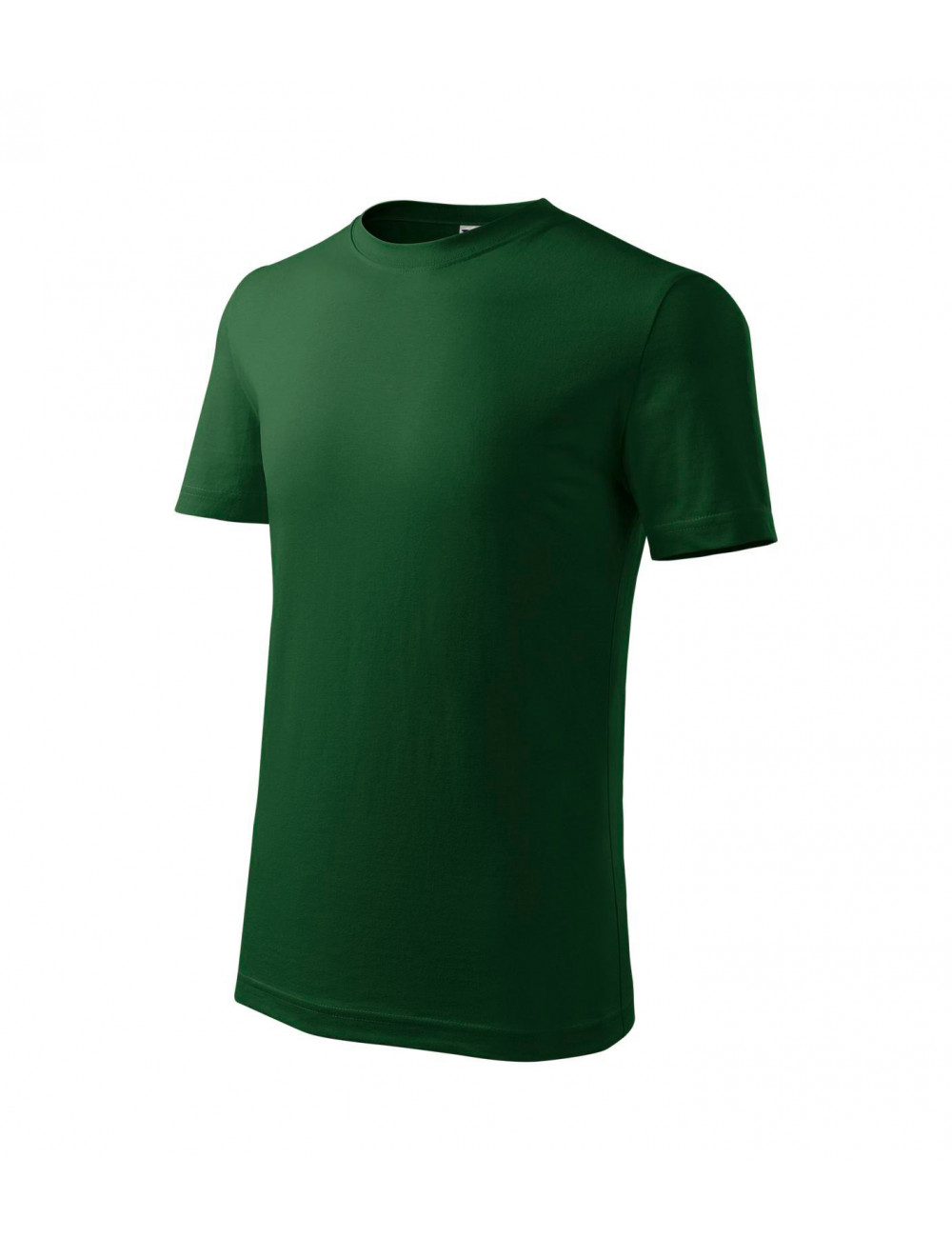Adler MALFINI Koszulka dziecięca Classic New 135 zieleń butelkowa