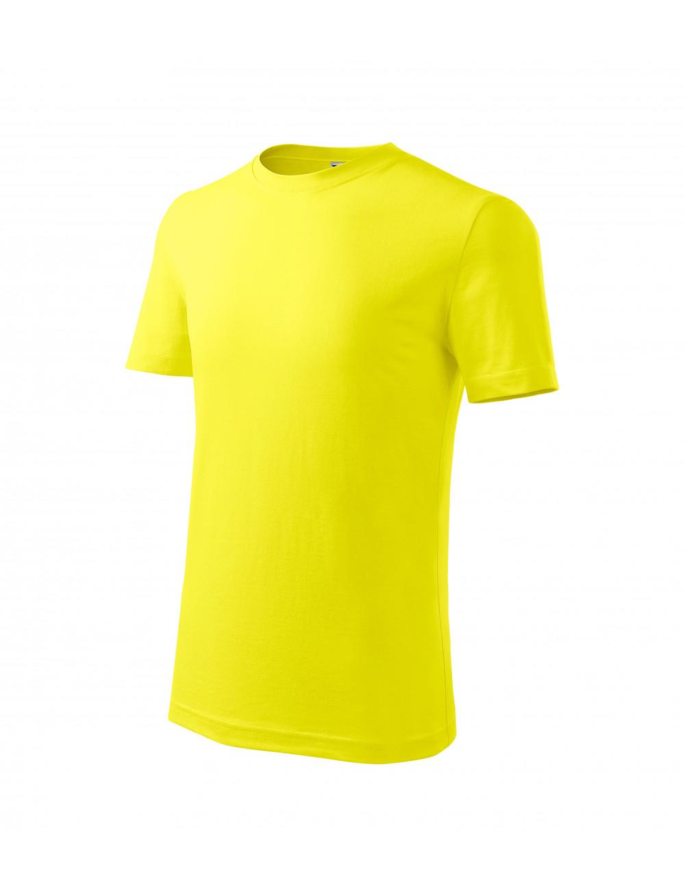 Adler MALFINI Koszulka dziecięca Classic New 135 cytrynowy