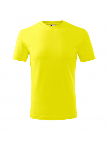 2Adler MALFINI Koszulka dziecięca Classic New 135 cytrynowy