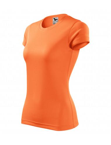 Adler MALFINI Koszulka damska Fantasy 140 neon mandarine
