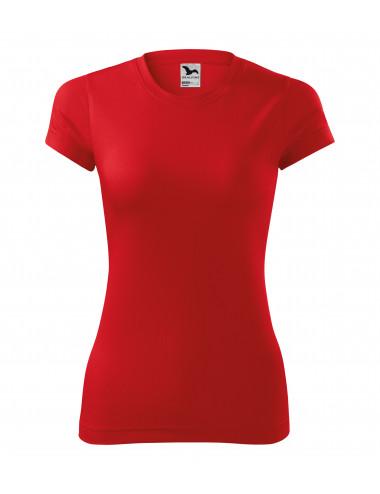 2Adler MALFINI Koszulka damska Fantasy 140 czerwony