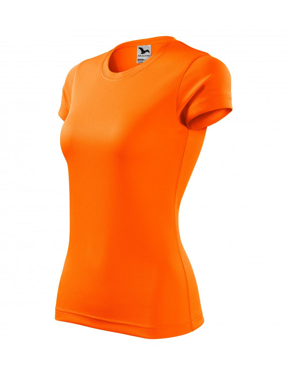 Adler MALFINI Koszulka damska Fantasy 140 neon orange