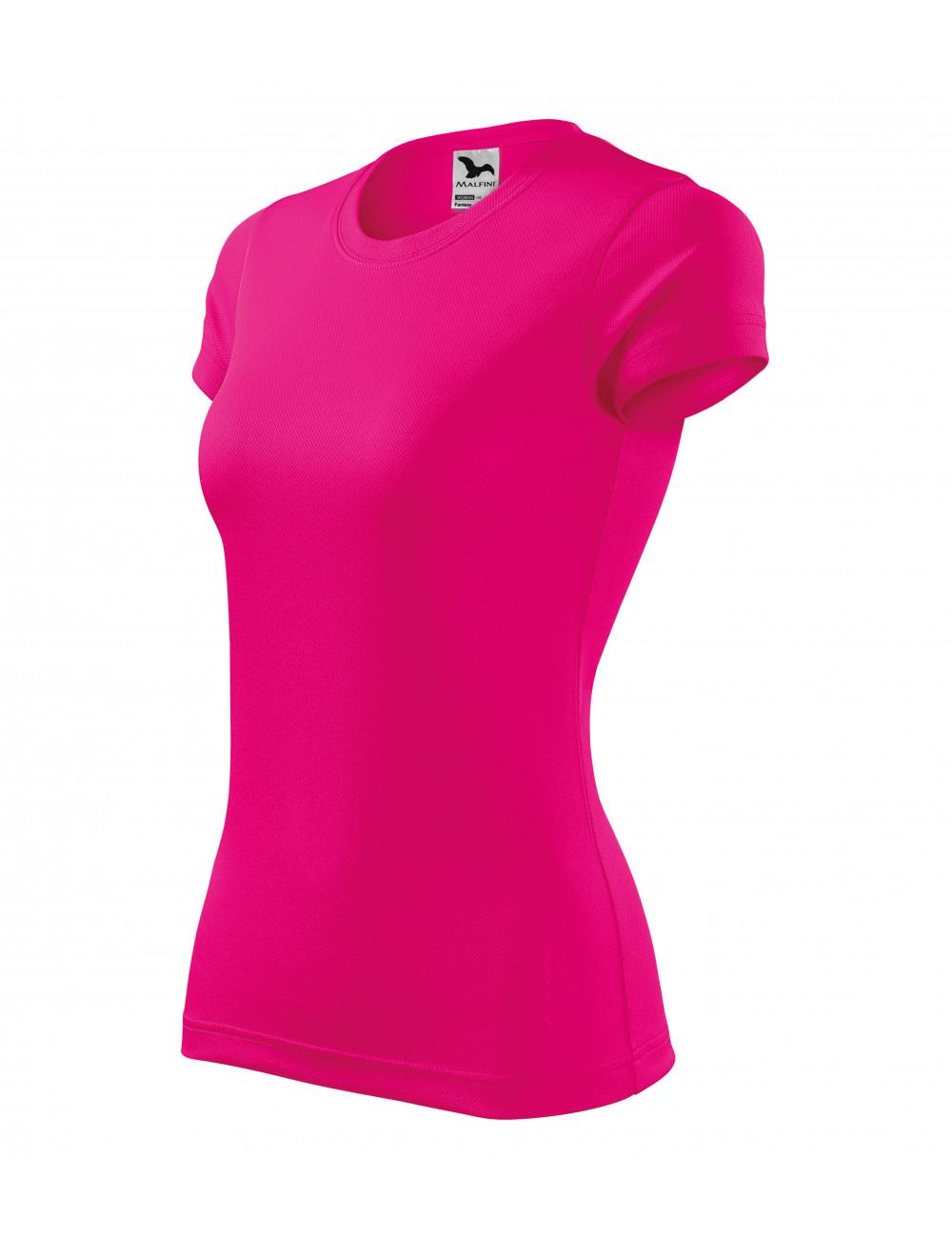 Adler MALFINI Koszulka damska Fantasy 140 neon różowy