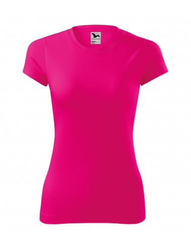 2Adler MALFINI Koszulka damska Fantasy 140 neon różowy