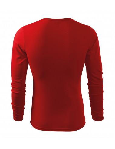 2Adler MALFINI Koszulka męska Fit-T Long Sleeve 119 czerwony