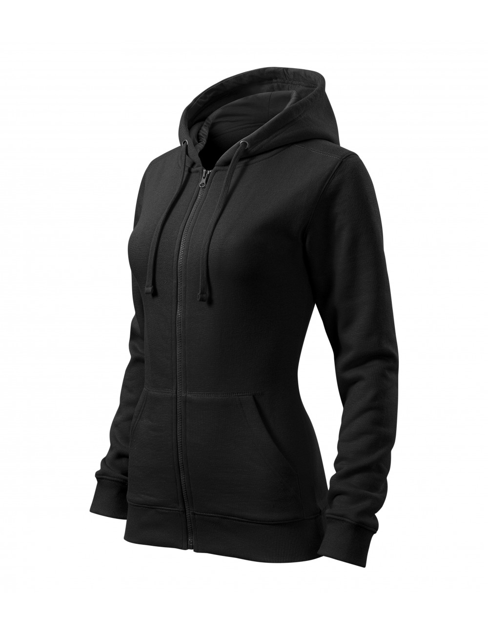 Adler MALFINI Bluza damska Trendy Zipper 411 czarny